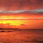Sonnenuntergang, Tauchen auf Mauritius, Tauchrevier Deutschland auf Reisen