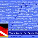Tauchen in Baden-Württemberg, Tauchen in Deutschland