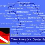 Tauchen in Bayern, Tauchen in Deutschland