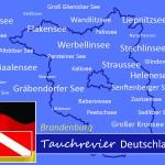Tauchen in Brandenburg, Tauchen in Deutschland