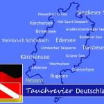 Tauchen in Hessen, Tauchen in Deutschland