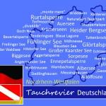 Tauchen in Nordrhein-Westfalen, Tauchen in Deutschland