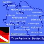 Tauchen in Niedersachsen, Tauchen in Deutschland