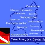 Tauchen in Rheinland-Pfalz, Tauchen in Deutschland