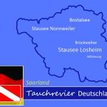 Tauchen im Saarland, Tauchen in Deutschland