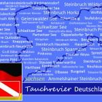 Tauchen in Sachsen, Tauchen in Deutschland