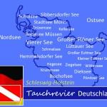 Tauchen in Schleswig-Holstein, Tauchen in Deutschland