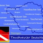 Tauchen in Thüringen, Tauchen in Deutschland