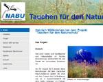 Tauchen für den Naturschutz, Tauchen in Deutschland